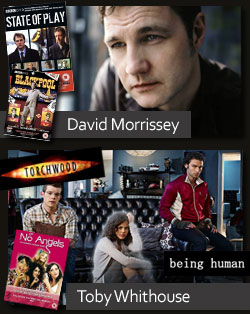 The Space - Meet David Morrissey and Toby Whithouse
