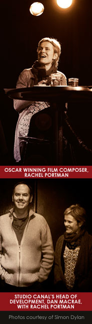 Oscar winning film composer, Rachel Portman at The Space